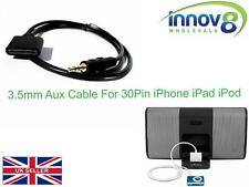 3.5mm Macho a Hembra para iPod iPhone iPad Muelle Coche Aux Audio Adaptador de cable de plomo