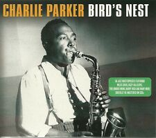 CHARLIE PARKER BIRD'S NEST - 2 CD BOX SET - JAZZ