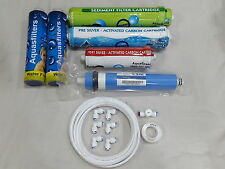 For Eureka Forbes RO Water Filter Purifier 1Year Service Kit+CSM 80 GPD Membrane