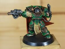 PLASTIC BETRAYAL AT CALTH CAPTAIN IN TERMINATOR ARMOUR SALAMANDERS PAINTED (106)