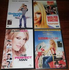 4 DVD CON HILARY DUFF LIZZIE MCGUIRE THE PERFECT MAN CINDERELLA STORY NATA PER V