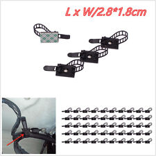 50 x Car SUV Data Cord Tie Cable Mount Wires 3M Fixed Clip Adjustable Organizers