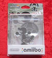 Mr. Game & Watch amiibo Figur, Super Smash Bros. Collection No. 45, Neu-OVP