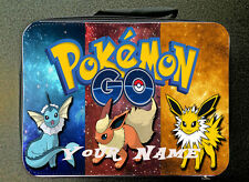 Blue Personalised Custom Unofficial Pokemon Insulated Lunch Bag 24CM X 18CM