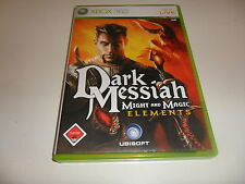 XBox 360    Dark Messiah of Might & Magic - Elements  USK 18