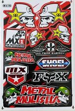 Rockstar Energy Stickers Motocross ATV Car Racing AUTO MOTOR VEHICLE Decals
