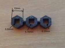 3 Different Sizes Tuning Piano Tools For 5.5mm Pins 5.75 Mm And 6.00 mm