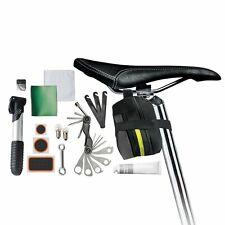 NEW PROTOCOL 24 IN 1 BICYCLE RESCUE KIT WITH PUMP AND TIRE & BRAKE REPAIR TOOLS