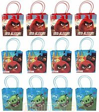 12pc New Angry Birds Movie Birthday Party Favors Goody Loot Gift Candy Bags