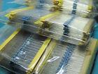 1280pcs 64 Values 1/4W 0.25W 1% Metal Film Resistors 1–10M ohm Assorted kits