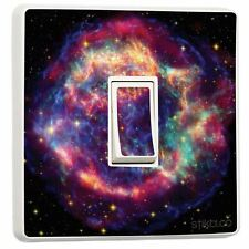 Nebula Space Light Switch Sticker vinyl skin cover [Generic Single]