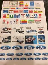 1/18 diorama FORD garage safety sheet  0022