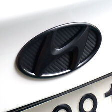 Matte Black Genuine H Logo Rear Trunk Emblem For 2010-2013 HYUNDAI SONATA (YF)