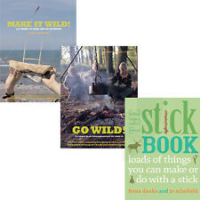 Fiona Danks & Jo Schofield,Make it Wild,Go Wild,The Stick  3 Book Collection