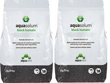 2x Seachem Aquarium Soil Substrate 2kg Black Humate Planted Tanks Dwarf Shrimp