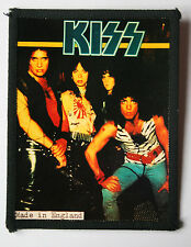 KISS Original Vintage 1980`s Sew On Photo Card Patch not shirt badge lp cd vinyl