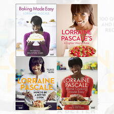 Lorraine Pascale 4 Books Collection Set (How to Be a Better Cook) Hardcover New