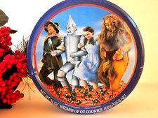 The Wizard of Oz Cookie Tin Metal Storage 50th Anniversary Edition Vintage 1989