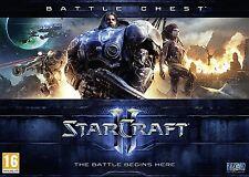 PC-DVD Starcraft II Battle Chest Gioco Nuovo Di Zecca Sigillato