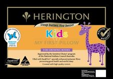 Herington My First Pillow Kids Toddler Cot to Bed Transition Pillow