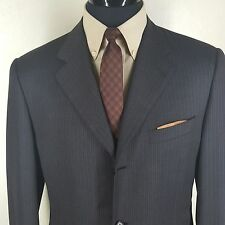 *CANALI* SPORT JACKET SUPER 120'S 3 BUTTON SIDE VENTS BROWN/RUST 42 LONG MINT