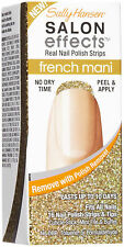 10 SALLY HANSEN SALON EFFECTS MANI FRENCH MANICURE 10 TOTAL NEW BOX'S