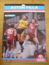 10/09/1988 Aston Villa v Liverpool  (No Apparent Faults)