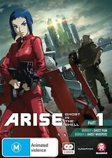 Ghost in the Shell Arise Part 1 DVD NEW
