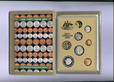 "1991 Royal Australian Mint Proof Set: ""25 Years of Decimal Currency."""