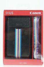 Canon IXUS dcc-1300 cuero estuche para IXUS 240 HS, 230 hs y 125 HS
