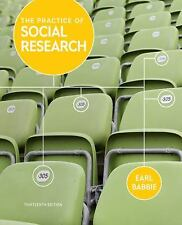 The Practice of Social Research 13th Edition by Earl R. Babbie (2012, Paperback)