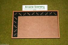 MDF laser cut MOVEMENT TRAY (10×6) 20mm Infantry Bases