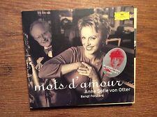 Anne Sofie Von Otter + Cecile Chaminade -  Mots D'amour [CD Album] DG