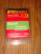 3M Filtrete Bissell Healthy Home Pre-Motor Filter 2 in Package