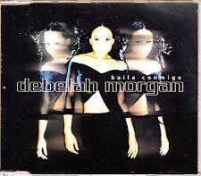 CD SINGLE promo DEBELAH MORGAN baila conmigo RARE SPANISH SUNG dance with me 01