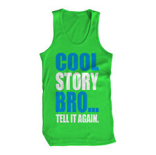 Cool Story Bro Tell It Again U Mad Come At Me Swag Jersey Icon USA Mens Tank Top