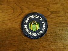 Girl Scouts Embroidered Iron On Patch Confidence in Penn Laurel Girl Scouts