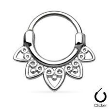 Nasenpiercing Nasenring Septum Clicker Ring Helix Cartilage Schmuck Ohr Piercing