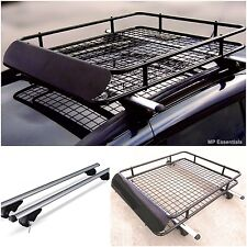M-Way Lockable Aluminium Roof Rail Bars & Roof Rack Tray for Ford Focus Estate