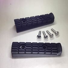 Yamaha FZR1000 1987-1995, New Hard Wearing Polymer Front Footrest Rubbers