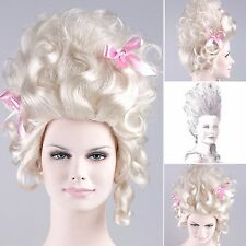 'MARIE ANTOINETTE WIG' (Blonde with Bows) | HD-1052