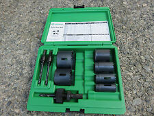 Unused Greenlee 830 Hole Saw Kit In Case.