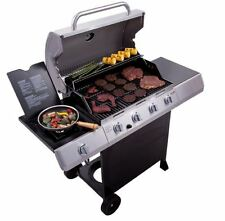Gas Grill Barbecue Charbroil 4 Burner Stainless Steel BBQ Outdoor Patio Picnics