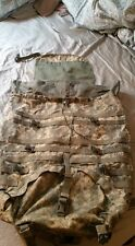 RUCKSACK w/ FRAME, LARGE FIELD PACK, MOLLE, MILITARY SURPLUS