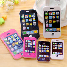 Big Size iPhone Shaped Rubber Pencil Erasers Students Creative Stationery