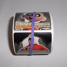 Disney Pixar The Incredibles Halloween Trick or Treat Sticker Roll Sandylion