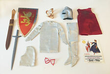 VINTAGE 1964 BARBIE KEN #773 KING ARTHUR OUTFIT LITTLE THEATRE COSTUME COMPLETE