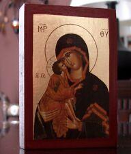 Madone Donskaya russe Icône Icon Icone icône Icônes ИКОНА Marie Vierge marie