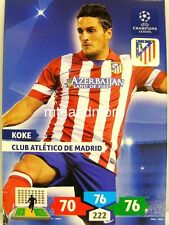 Adrenalyn XL Champions League 13/14 - koke-Club Atletico de Madrid