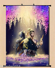 NEW Game Overwatch OW GENJI HANZO Poster Wall Home Decor Scroll